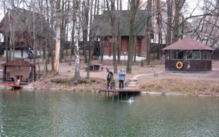 Рыбацкая деревня  рыбалка на ВДНХ ВВЦ