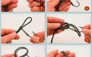 Как вязать узлы на леске — типы рыболовных узлов и типы лесок