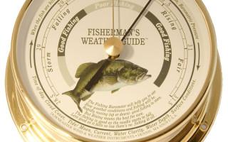 Барометр для рыбалки — часы и какой лучший барометр для рыбалки